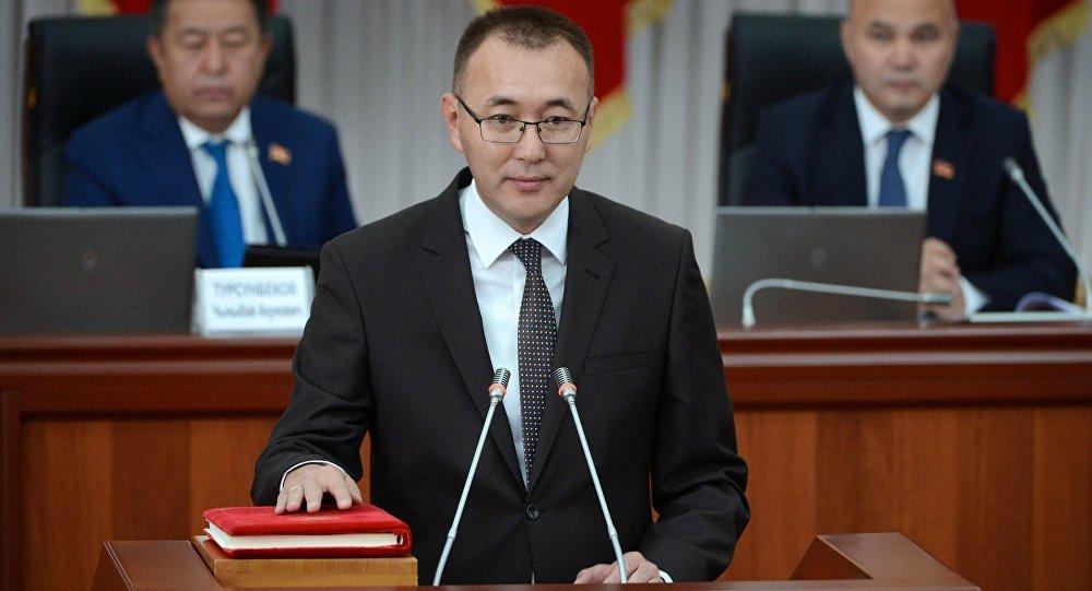 Вице-премьером Киргизии стал Толкунбек Абдыгулов