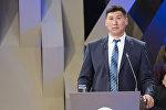 Эмгек жана социалдык өнүктүрүү министри Улукбек Кочкоров. Архивдик сүрөт
