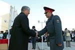 Рабочая поездка в Джалал-Абадскую область президента КР Алмазбека Атамбаева