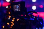 Съемки новогодней программы на Первом канале