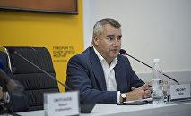 Бывший посол Великобритании в Кыргызстане Робин Орд Смит. Архивное фото