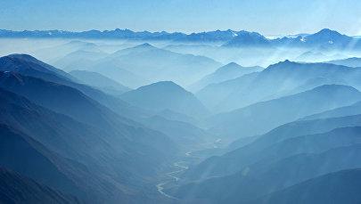 Природа Кыргызстана. По пути в город Джалал-Абад