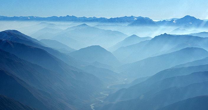 Вид на горы в Кыргызстане. Архивное фото