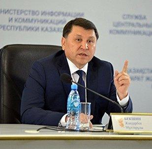 Председатель комитета охраны общественного здоровья Министерства здравоохранения Казахстана Жандарбек Бекшин. Архивное фото