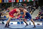 Кыргызстанец Эсен Асанов на Чемпионате мира по спортивной борьбе (U-23) в Польше