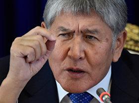 Итоговая пресс-конференция Алмазбека Атамбаева
