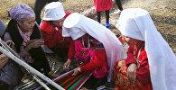 Памирские кыргызы живущие в селе Нарынского района. Архивное фото
