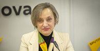 Руководитель одного из туристических агентств Кишинева Прасковья Кулева на радиостудии Sputnik Молдова