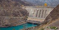 Курпсайская ГЭС на реке Нарын. Архивное фото