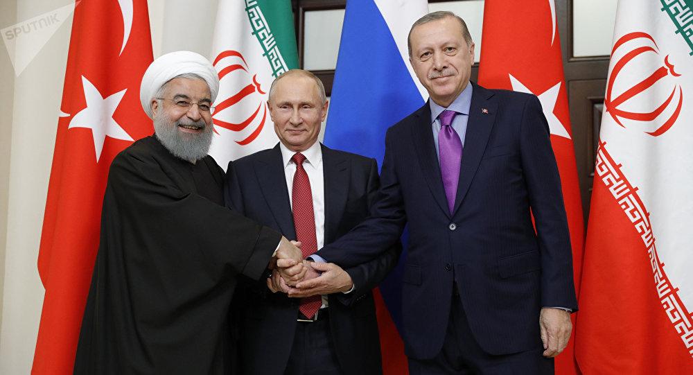 Слуцкий: РФ, Турции иИрану удалось сделать настоящую антитеррористическую коалицию