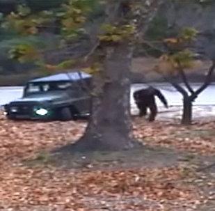 Настоящий боевик — в Сети появилось видео побега пограничника из КНДР