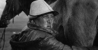 Кыргыздын кино жана театрынын өнүгүүсүнө зор салым кошкон актер Муратбек Рыскуловдун архивдик сүрөтү
