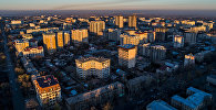 Жилые дома в Бишкеке. Архивное фото