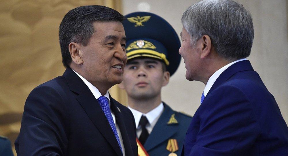 Состоится ли встреча Жээнбекова с Атамбаевым?