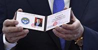 Торжественная церемония официального вступления Сооронбая Жээнбекова в должность президента КР