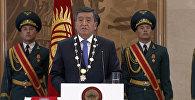 Президент Жээнбеков о внутренней и внешней политике — видео