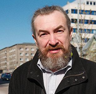 Эстонский антифашист, один из организаторов антивоенных маршей и акции Бессмертный полк — Таллинн Алексей Есаков