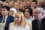 Дочь президента КР Соронбая Жээнбекова Бактыгуль с мужем Атабеком Абжалиевым