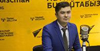 КТРК телеканалындагы Асман вокалдык теледолбоорун катышуучусу Расул Исаков
