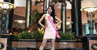 Кыргызстанская модель Айгерим Абдраимова на международном конкурсе красоты Miss Tourism International — 2017