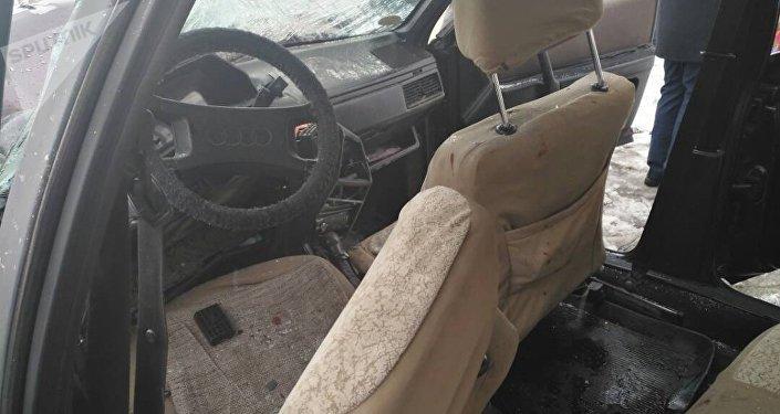Лобовое столкновение двух автомобилей в районе села Оргочор