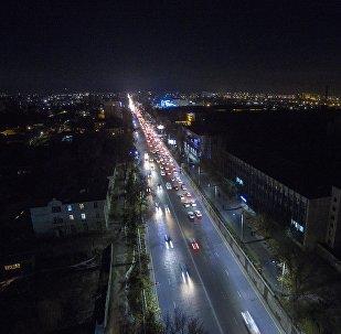Түнкү Бишкек. Архив