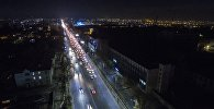 Проспект Чингиза Айтматова (бывшее Мира) по которой проезжает в Бишкеке. Архивное фото