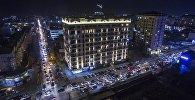 Бишкектеги жол тыгын. Архивдик сүрөт