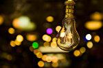 Лампочка накаливания. Архивное фото