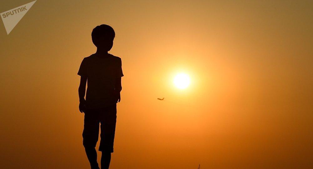 Мальчик. Архивное фото