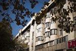 Здание на улице Киевская в Бишкеке. Архивное фото