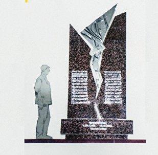 Дача Суда авиакырсыктан каза болгондорго мемориалдык комплекс курулат. Эскиз