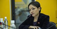 Жогорку Кеңештин депутаты Аида Касмалиеванын архивдик сүрөтү