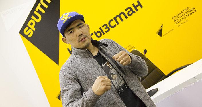 Кыргызстандык мушкер Актилек Жумабек уулу