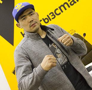 Кыргызстанский боец ММА Актилек Жумабек уулу. Архивное фото