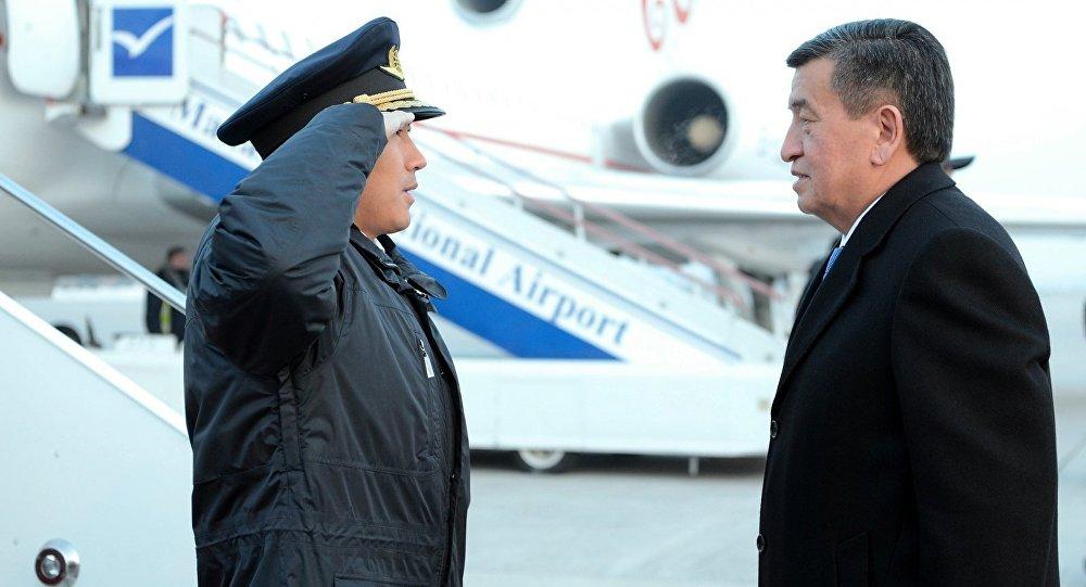 Сооронбай Жээнбеков Өзбекстанга жөнөп кетти