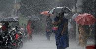 Муссонные дожди в Индии