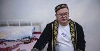 КРдин эл артисти, белгилүү режиссёр, актёр Замир Сооронбаев. Архивдик сүрөт