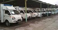 Прибыло 15 автомашин скорой медицинской помощи в Бишкек и Ош