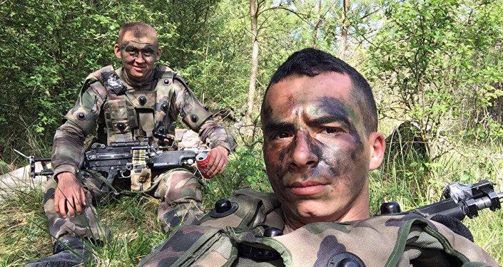 Служащий в французском легионе Болот Курманбеков
