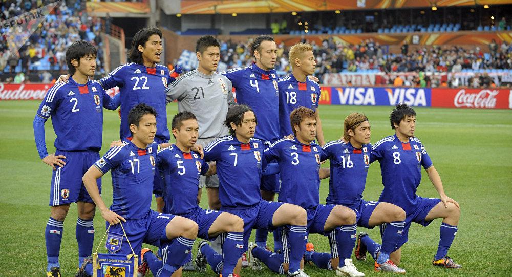 Игроки сборной Японии. Архивное фото