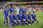 Япониянын футбол боюнча курама командасы. Архивдик сүрөт