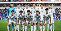 Игроки сборной Южной Кореи