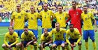 Игроки сборной Швеции. Архивное фото