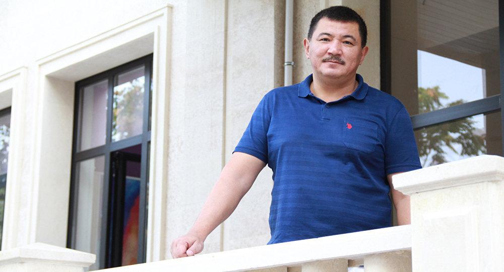 КРдин Эмгек сиңирген артисти Бек Борбиев. Архив
