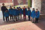 Молодые хоккеисты приехали в город Чикаго для участия в международном турнире