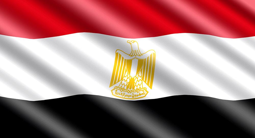 Государственный флаг Египта