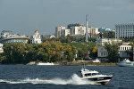 Вид на город Самара. Российская Федерация