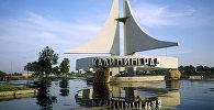 Вид на город Калининград. Российская Федерация