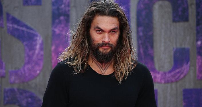Актер из сериала Игры престолов Джейсон Момоа. Архивное фото